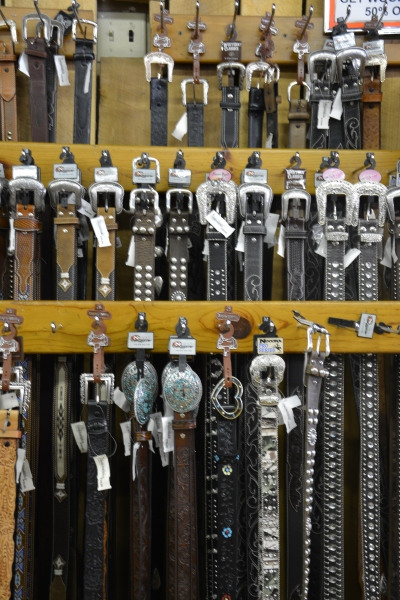 Cowboy belts more blinged out than 'Fiddy Cent' could hope for