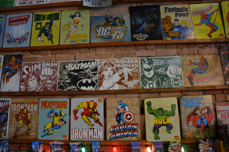 Treats for comic book collectors and lovers of kitsch