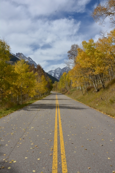 For your fall-coloured  hikes in Aspen that lead straight into the mountains