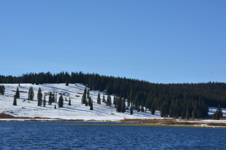 For your azure mountain lakes that made our hearts swell