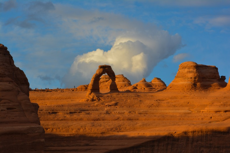 Delicate Arch - the best place in Utah to catch sunset