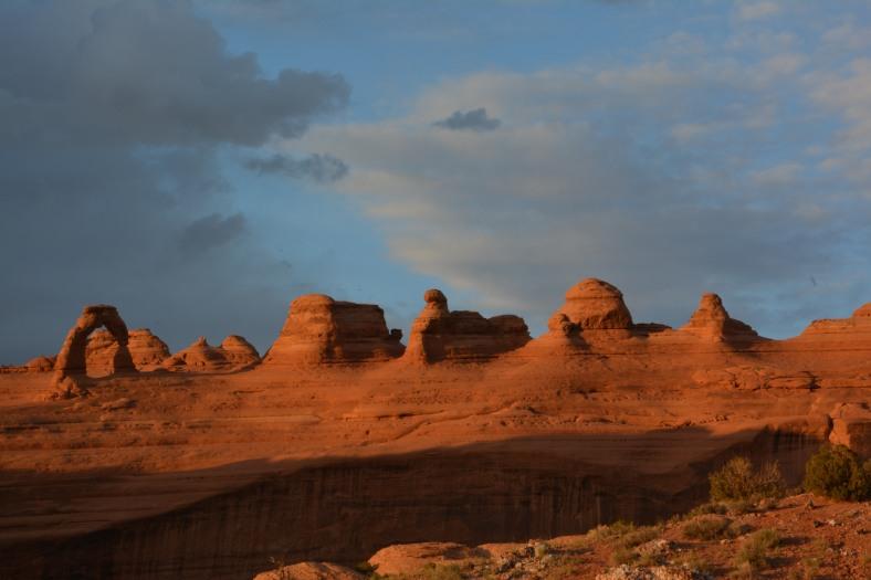 The reddening skies of Utah