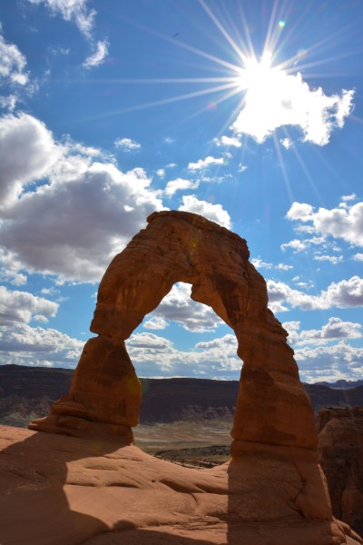 Delicate Arch - the state symbol of Utah, and rightly so