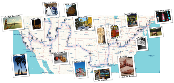 Thank you, Roadtrippers.com, for the great interactive map!